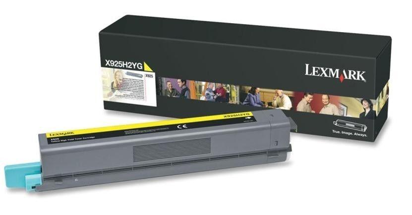 Lexmark toner Lexmark yellow (7500str, X925)