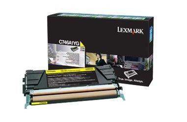 Lexmark Toner yellow | zwrotny | 7000str | C746/C748