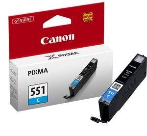 Canon tusz CLI551C cyan (iP7250/MG5450/MG6350)