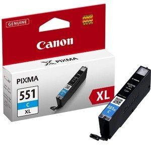 Canon tusz CLI551C XL cyan (iP7250/MG5450/MG6350)