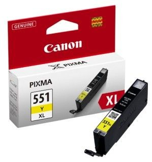 Canon Tusz CLI551Y XL yellow | iP7250/MG5450/MG6350