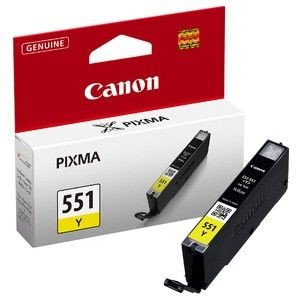 Canon tusz CLI551Y yellow (iP7250/MG5450/MG6350)