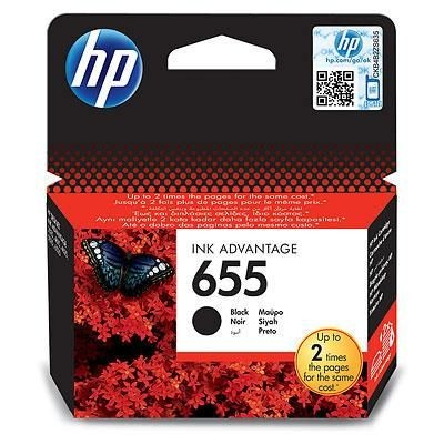 HP tusz 655 black BLISTER
