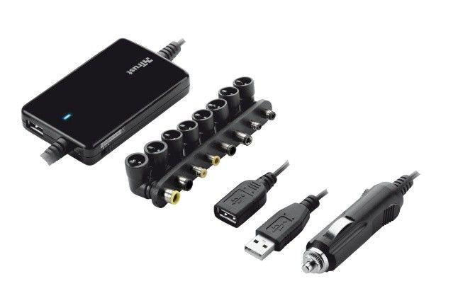 Trust Ultraslim Notebook Power Adapter 70W - Car
