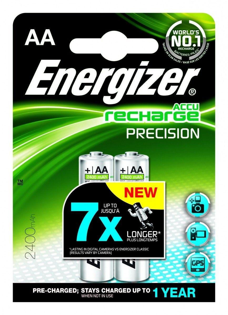 Energizer akumulatory Precision Precharged AA HR6 2400mAh (2szt)