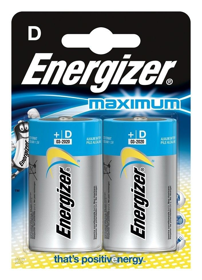 Energizer baterie MAXIMUM D R20 2szt