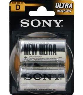 Sony baterie cynkowe R20 (2szt, blister)