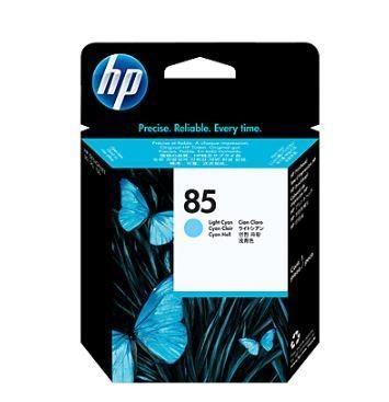 HP 85 light cyan (głowica drukująca, designjet 30/30gp/30n/130/130gp/130nr)