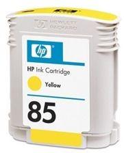 HP 85 yellow (wkład atramentowy, 69 ml, designjet 30/gp/n/130/gp/nr)