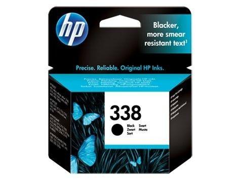 HP 338 black (wkład atramentowy, 11ml)