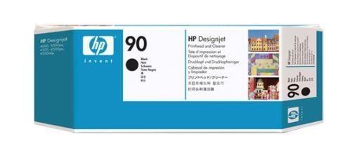 HP 90 Black (głowica drukująca, printhead cleaner)