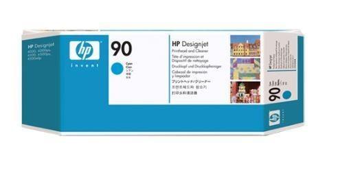 HP 90 Cyan (głowica drukująca, printhead cleaner)