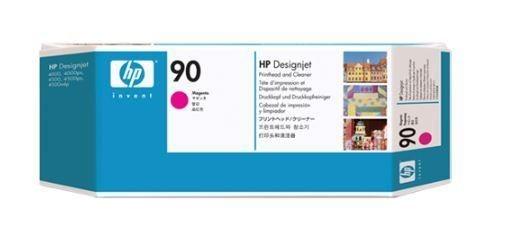 HP 90 Magenta (głowica drukująca, printhead cleaner)