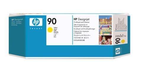 HP 90 Yellow (głowica drukująca, printhead cleaner)