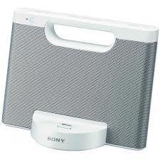 Sony głośniki RDP-M7IP ze stacją dokującą do iPod/iPhone (białe)