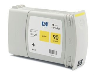 HP 90 Yellow Value Pack (głowica + wkład atramentowy, 400ml)