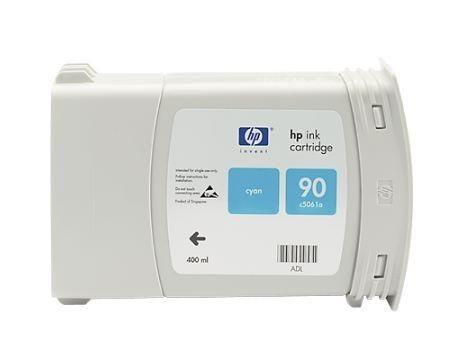 HP 90 Cyan Multipack (wkład atramentowy, 3x400ml)