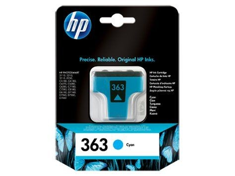 HP Tusz HP 363 cyan Vivera | 4ml | Photosmart8250,3110/3210/3310
