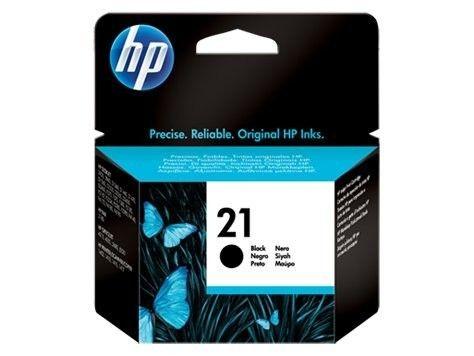 HP Głowica drukująca HP 21 black | 5ml | DeskJet3940/3920,PSC1410