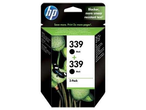 HP 339 czarny (wkład drukujący, 2x21ml)