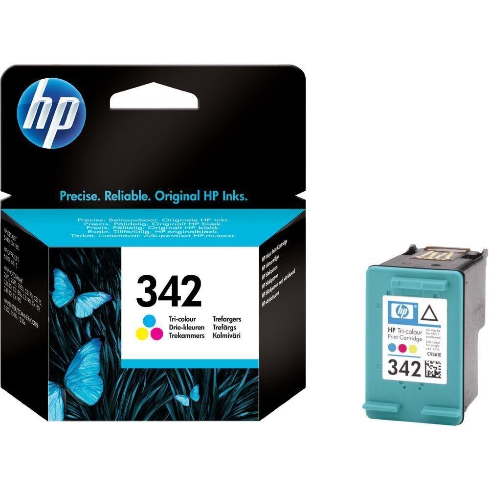 HP 342 kolor (wkład drukujący, 5ml, DJ5440/Photosmart2575/PSC1510)