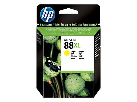 HP Tusz HP 88XL yellow Vivera | 17ml | designjet30/30gp/30n/130/130gp/130nr