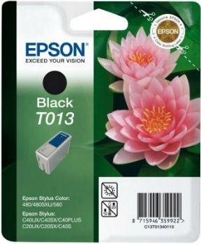 Epson T013401 czarny (wkład atramentowy, STC 480/STC 580/ Stylus C20SX/ C20UX/ C40UX)