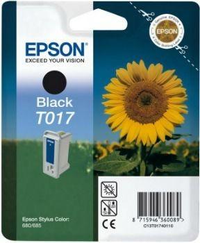 Epson T017401 czarny (wkład atramentowy, Stylus Color 680/ Stylus Color 680TR)