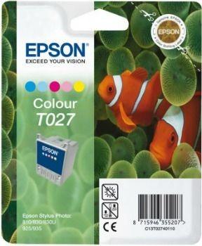Epson T027401 kolor (wkład atramentowy, Stylus Photo 810, Photo 830, 925)