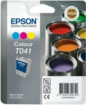 Epson T041040 kolor (wkład atramentowy, Stylus C62)