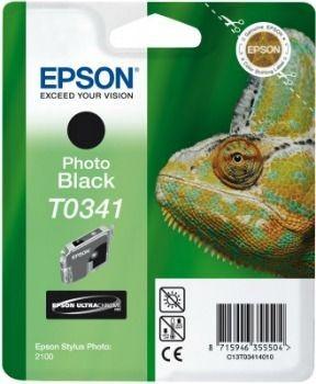 Epson T034140 czarny (wkład atramentowy, Stylus Photo 2100)