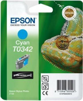 Epson T034240 cyan (wkład atramentowy, Stylus Photo 2100)