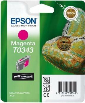 Epson T034340 magenta (wkład atramentowy, Stylus Photo 2100)