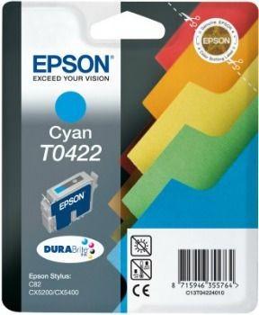 Epson T042240 cyan (wkład atramentowy, Stylus C82, Stylus CX 5200)