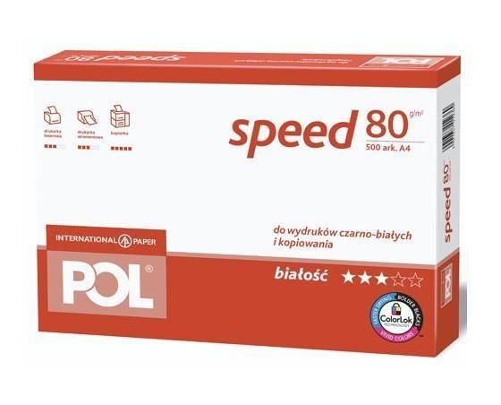 Papier biurowy Polspeed A4 (karton, 5x ryza)