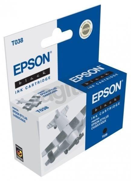 Epson T03814A czarny (wkład atramentowy, C43SX, C43UX)