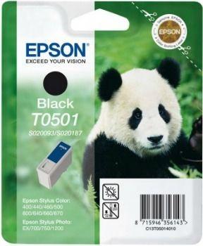 Epson T050140 czarny (wkład atramentowy, StylusColor400/500/600/Photo/Photo700/PhotoEX)