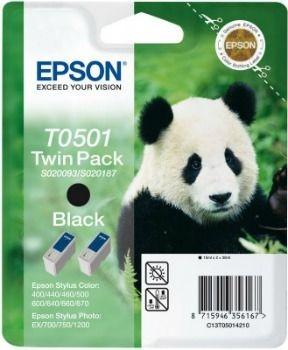 Epson T050142 podwójny czarny (wkład atramentowy, StylusColor4x0/500/Color6x0/Photo7x0)