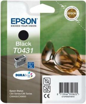 Epson T043140 czarny (wkład atramentowy, 1240 str., C84, C84N, C84WiFi, CX6400)