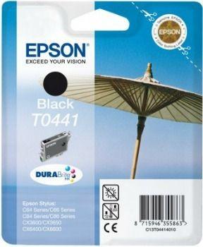 Epson T044140 czarny (wkład atramentowy, 400 str., C64, C84, C84N, C84WiFi, CX6400)