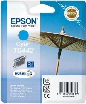 Epson T044240 cyan (wkład atramentowy, 400 str., C64, C84, C84N, C84WiFi, CX6400)