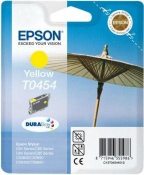 Epson T045440 yellow (wkład atramentowy, 250 str., C64, C84, C84N, C84WiFi, CX6400)