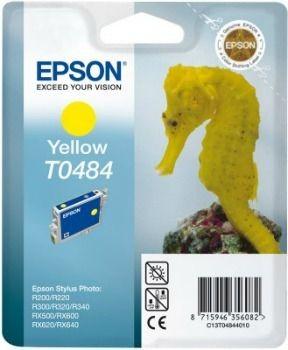 Epson Tusz T0484 yellow | Stylus Photo R200/220/300/320/340,RX500/600/640