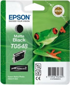 Epson T054840 czarny matte (wkład atramentowy, Stylus Photo R800)