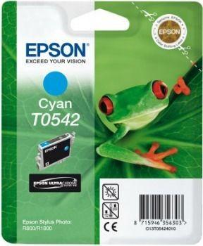 Epson T054240 cyan (wkład atramentowy, Stylus Photo R800)