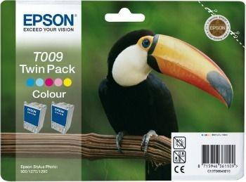 Epson T009402 kolor Twin Pack (wkład atramentowy, St Photo 900/ 1270/ 1290/ 1290S)