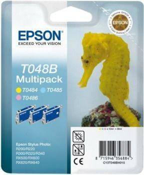 Epson T048B40 Multipack light CMY (wkład atramentowy, Stylus Photo R300, RX500, R200)