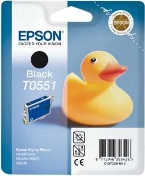 Epson T055140 czarny photo (wkład atramentowy, Stylus Photo RX420/425)