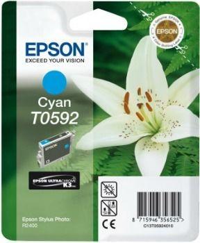 Epson T059240 cyan (wkład atramentowy, Stylus Photo R2400)