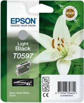 Epson T059740 light black (wkład atramentowy, Stylus Photo R2400)